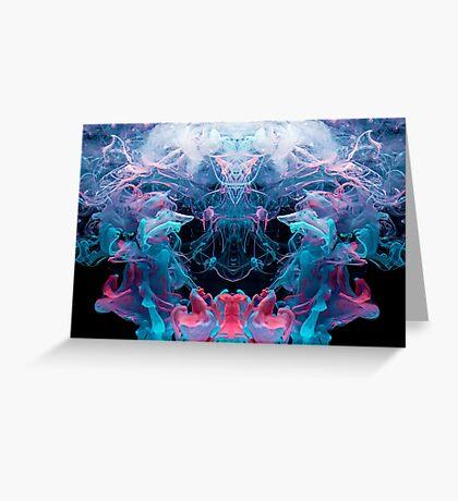 Alien Emperor Greeting Card