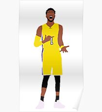 """D'Angelo Russell """"Eis in meinen Adern"""" Poster"""