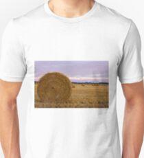 Purple bales Unisex T-Shirt