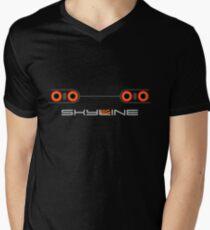 Horizont T-Shirt mit V-Ausschnitt für Männer