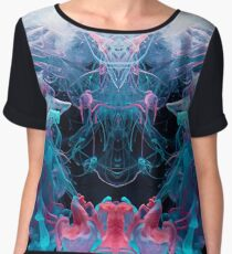Alien Emperor Women's Chiffon Top