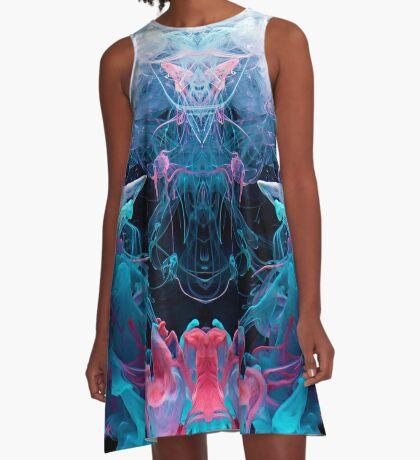 Alien Emperor A-Line Dress