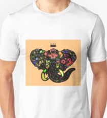 DC Elephant BLK orange ALT T-Shirt