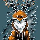 Deer Fox by c0y0te7