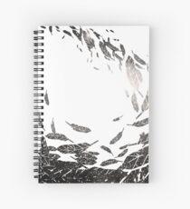 Flight Path to Venus *Solar Flare* Spiral Notebook