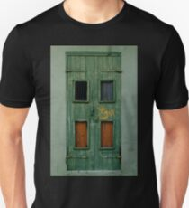 Green Hurricane Katrina Door Unisex T-Shirt