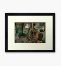 Projection Booth Framed Print