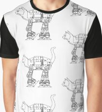 Star Wars - Cat-Cat Imperal Walker Graphic T-Shirt