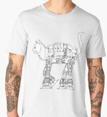 Star Wars - Cat-Cat Imperal Walker Men's Premium T-Shirt