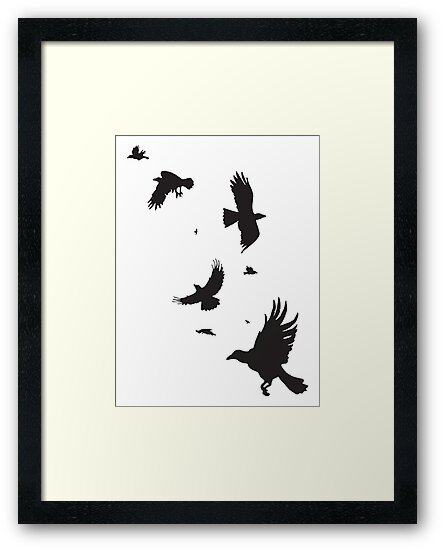 A Murder of Crows by Jacquelyne Drainville