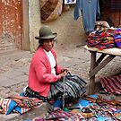 Street Vendor - Pisac, Cusco Province, Peru by Rebel Kreklow