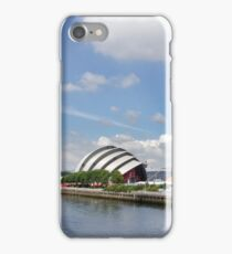 Side view of the main Clydeside, Glasgow, Scotland iPhone Case/Skin