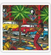 Cuba, Trompette et Cigare Sticker