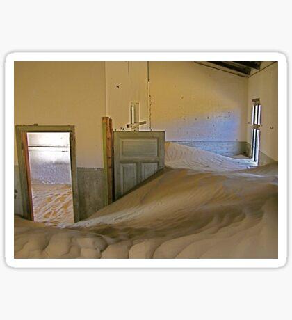 desert-ed room Sticker