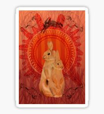 Watership Down- The thousand  Sticker