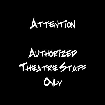 Theater Staff A by Veraukoion