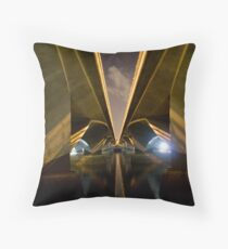 Two Pathways for One Journey Throw Pillow