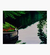 Lake Lanier Evening Photographic Print