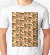 Triple Stack Attack Burger Unisex T-Shirt