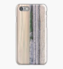 Winter waves at the beach iPhone Case/Skin