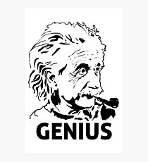 Einstein Genius Photographic Print