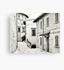 Old Italian street Canvas Print