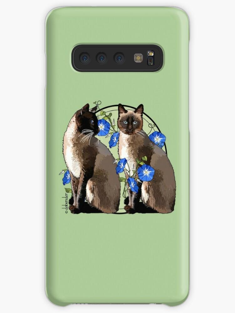 «Gatos siameses con correhuelas» de NatureNotes