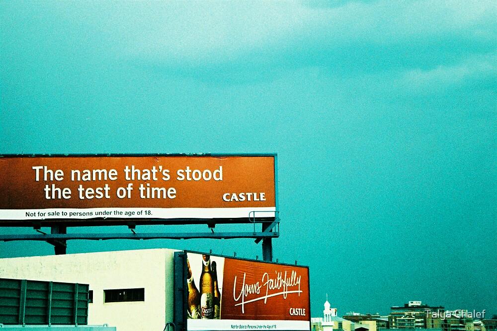 billboards on highways in jhb by Talya Chalef