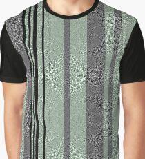 Stripy Graphic T-Shirt