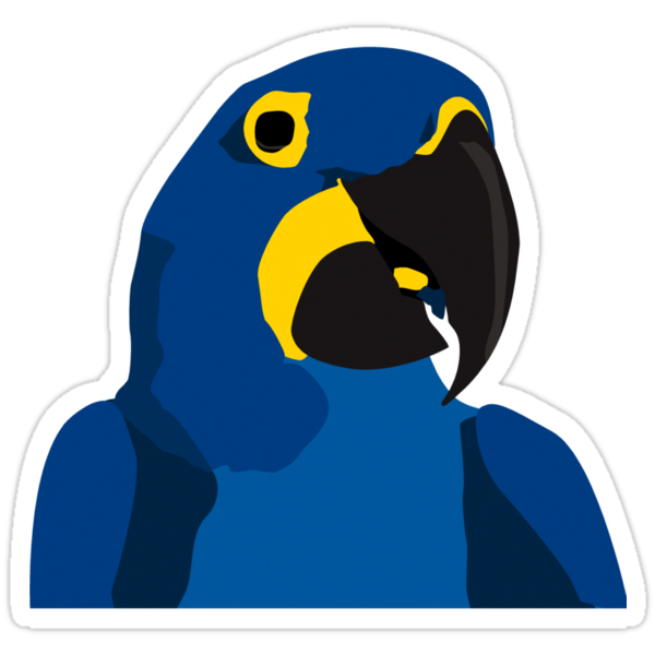 Blue Parrot by popdesign