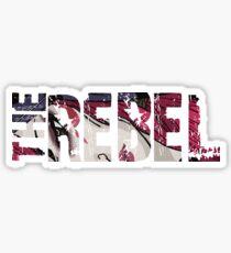 Xayah, the Rebel Sticker