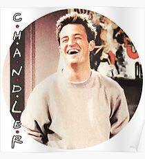 Friends --- Chandler Bing (v2) Poster