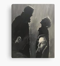X Files Pilot/Truth Painting (Most Products) Canvas Print