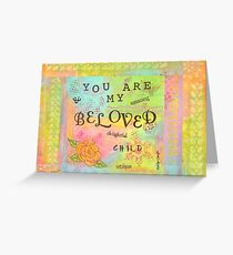 You are My Beloved Greeting Card