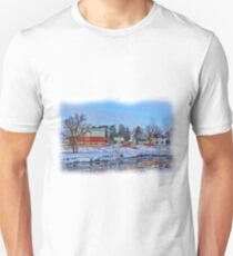 Chickasaw Winter Painted Unisex T-Shirt