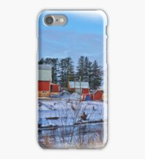 Chickasaw Winter Painted iPhone Case/Skin