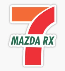 RX7 Sticker