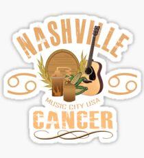 Nashville Zodiac - Cancer Sticker