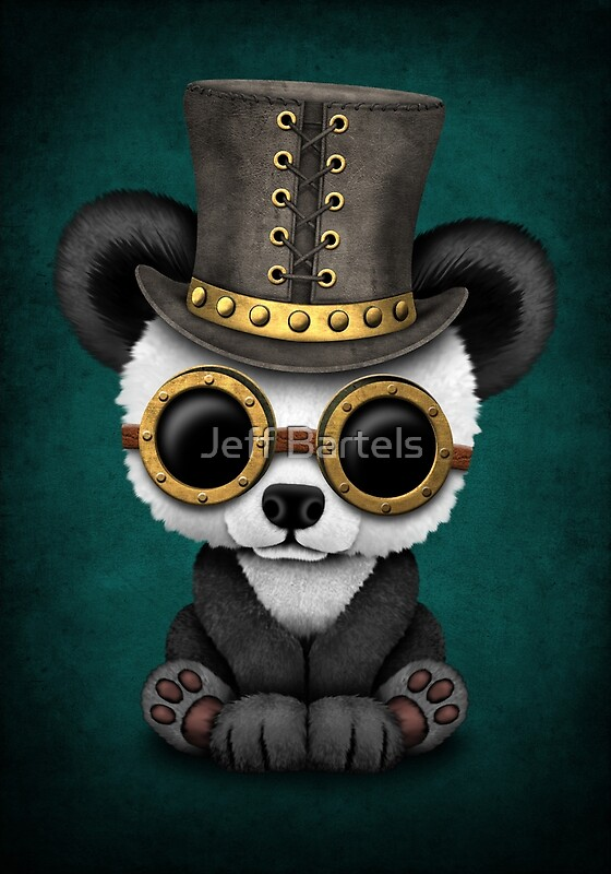 a75a3793d Cute Steampunk Animals by jeff bartels
