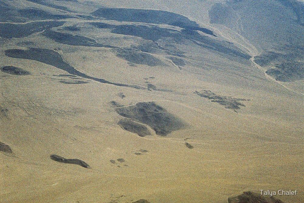 a desert in the sky by Talya Chalef
