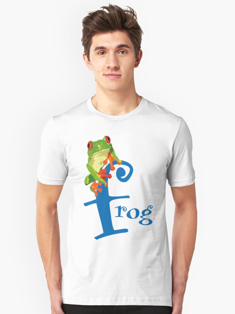 Frog Unisex T-Shirt Front