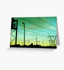 soweto skyline Greeting Card