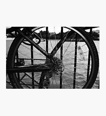 The Thames Through Spokes Photographic Print