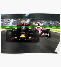 Max Verstappen - Win number 1 Poster