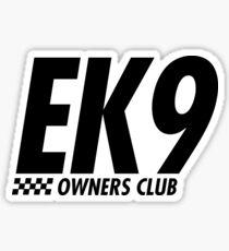 EK9 OWNERS CLUB Sticker