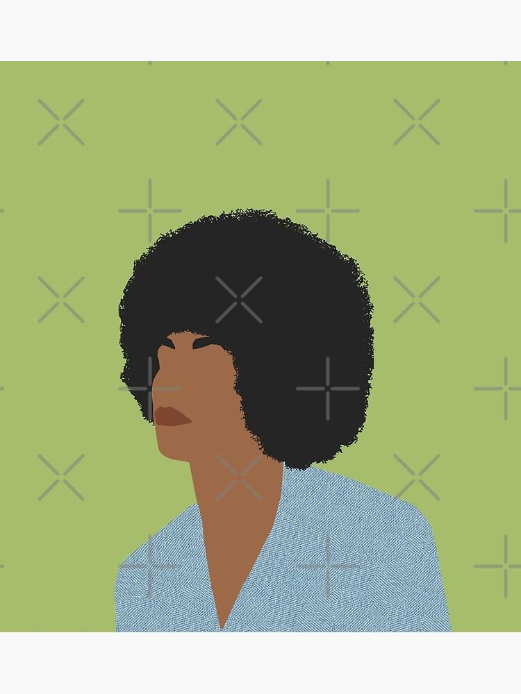 Angela Davis - Feminist Icons and Inspiring Women by thefilmartist