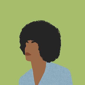 Angela Davis - Feministische Ikonen und inspirierende Frauen von thefilmartist
