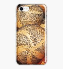 Artisan baked goods close up in a rustic setting iPhone Case/Skin