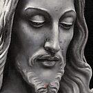 Jesus Sculpture Oil Painting by Neil Godding
