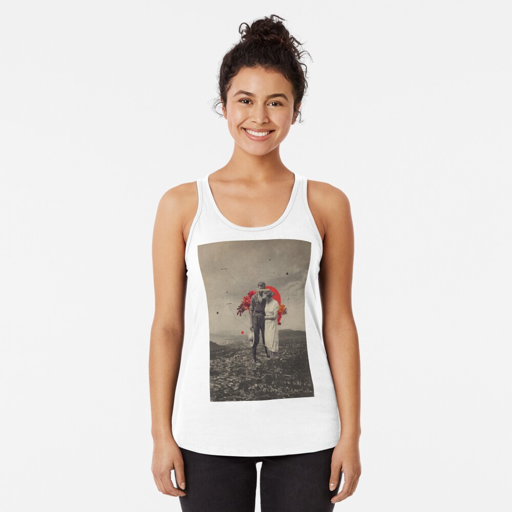 By My Side Racerback Tank Top